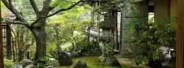 京都の庭と日常生活