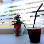 珈琲とセブンイレブンに和紙プランター