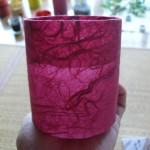 雲竜紙赤色和紙