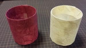雲竜紙で和紙プランター