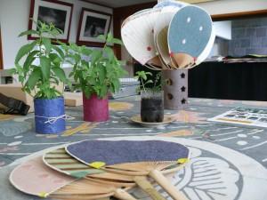 安部榮四郎記念館と和紙プランター